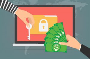 Ransomware: giving money away for the possibility of getting your data back.